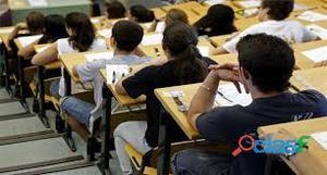 Clases, cursos y regularización