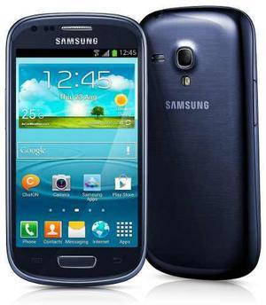 Celular samsung galaxy s3 mini i8190 libre azul core 8gb 3g