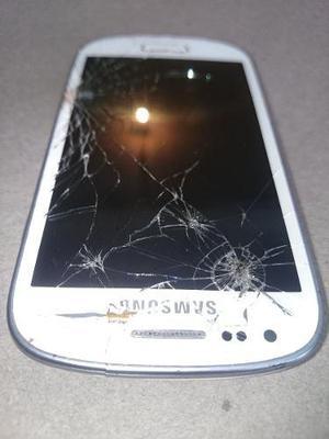 Samsung galaxy s3 mini gt-i8190 8gb dañado del display y
