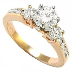 863fd6c9a04e Anillo compromiso oro amarillo 18kt oferta especial -50% abc