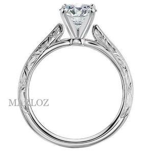 741f193acad9 Anillo compromiso oro blanco 18kt diamante natural.20ct en México ...