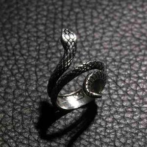 Anillo serpiente culebra metal hombre mujer moda regalo