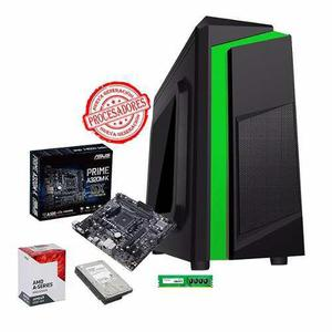 Cpu arquitectura gamer amd a8 10 núcleos 8gb 250gb radeon