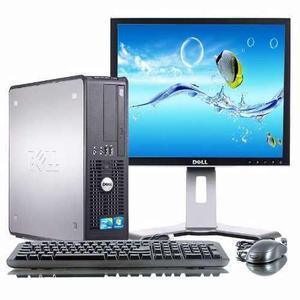 Cpu dell optiplex 755/760 core2duo 4gb monitor lcd 19' wifi