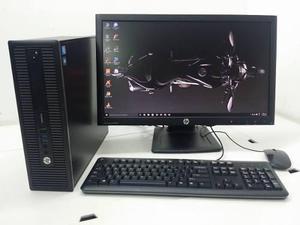EQUIPO HP PRODESK 600 G1 SFF DUAL CORE 320GB-4GB LCD 22 segunda mano  México (Todas las ciudades)