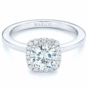 0e59ad26d31d Hermoso anillo de compromiso en oro blanco 10kt en México   REBAJAS ...