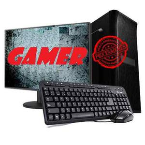 Pc completa gamer 10 nucleos amd a8 8gb 1tb 21.5 led radeon