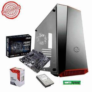 Pc cpu amd a10 9700 8gb ram ddr4 1tb cooler master