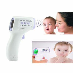 Termómetro digital lcd infrarrojo bebés/adultos sin