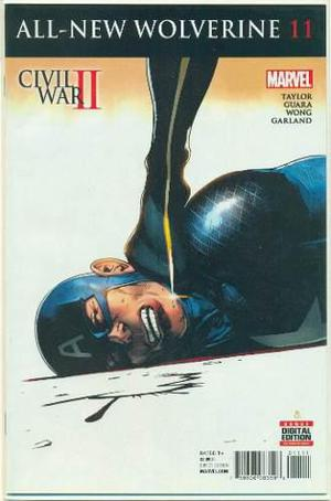 All new wolverine 11 marvel comics civil war captain america