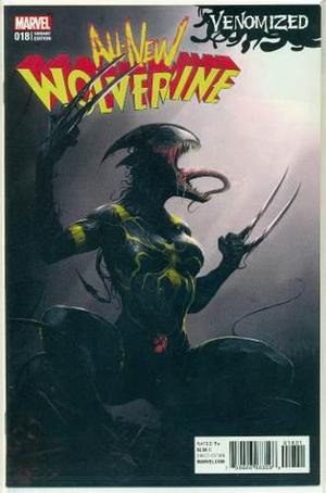 All new wolverine 18 variante venomized marvel comics venom