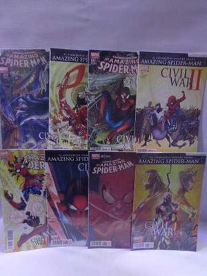 Amazing spider-man serie completa civil war 2 televisa 2016