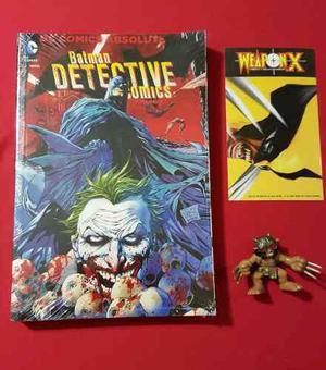 Batman detective comics, dc 2 absolutes edit. televisa