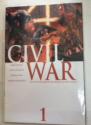 Civil war 1,3,4,5,6,7. paquete de siete a 1350 envío gratis
