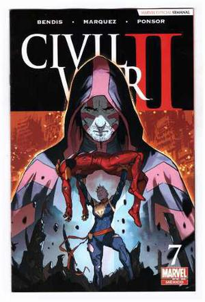 Civil war 2 # 7 - editorial televisa