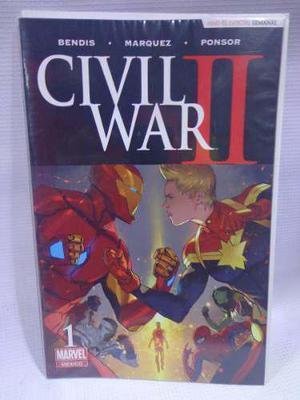 Civil war 2 vol.1 marvel televisa 2016