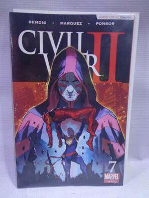 Civil war 2 vol.7 marvel televisa 2016