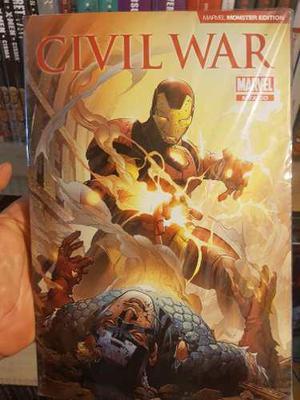 Civil war monster edition pasta blanda editorial televisa