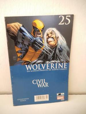 Civil war wolverine 25 editorial televisa