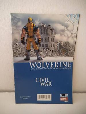 Civil war wolverine 28 editorial televisa