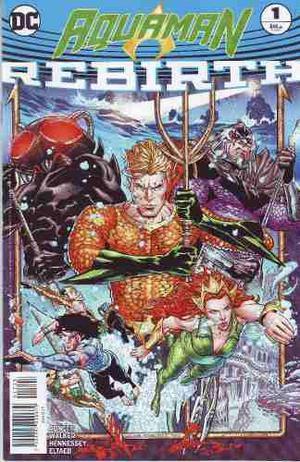 Comic Dc Universe Rebirth Aquaman # 1 One Shot