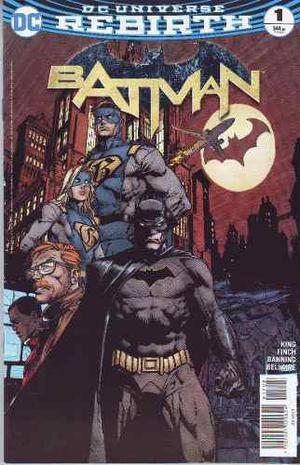 Comic Dc Universe Rebirth Batman # 1 Ingles Unico