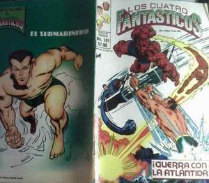 Comics los cuatro fantasticos edit.novedades (1980)