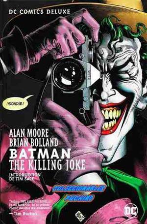Dc comics deluxe batman the killing joke broma asesina joker