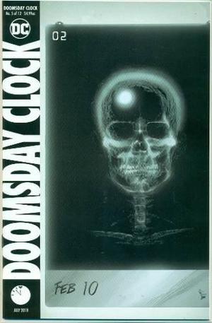 Doomsday clock 5 portada regular dc comics ingles