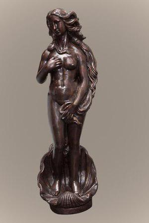 Escultura De Bronce Venus De Boticelli Clasica