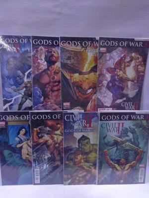 Gods of war serie completa civil war 2 marvel televisa 2016