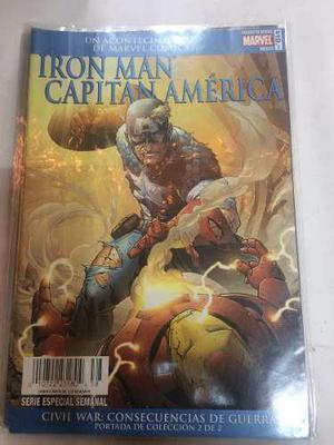Iron man capitán america civil war consec. de la guerra