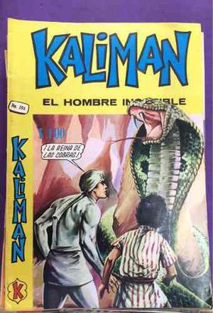 Kalimán paquete de dos a 490