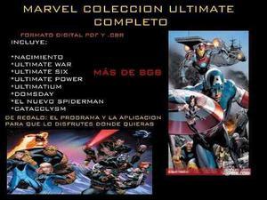 Marvel coleccion ultimate completa mas de 8gb