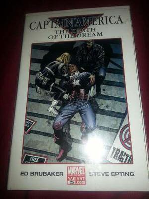 Marvel comic civil war capitan america the death of dream