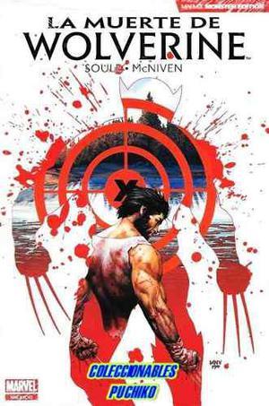 Marvel comics la muerte de wolverine monster edition logan