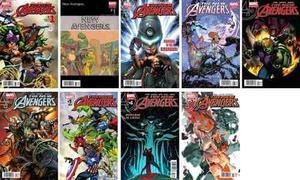 Marvel comics the new avengers 1 2 3 4 5 6 7 8 all new