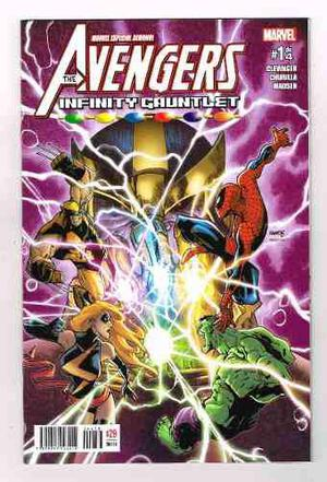 The avengers - infinity gauntlet #1 - editorial televisa
