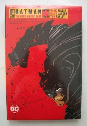 Tomo dc comics batman the dark knight saga deluxe televisa