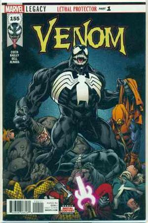 Venom 155 lethal protector 1 legacy marvel comics