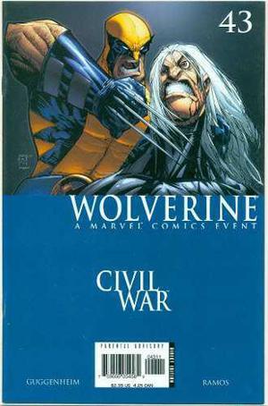 Wolverine civil war 43 al 48 marvel comics humberto ramos