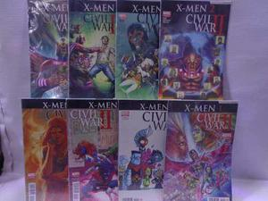 X-men serie completa civil war 2 marvel televisa 2016