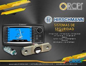 Sistema de seguridad hirschmann para grúas industriales