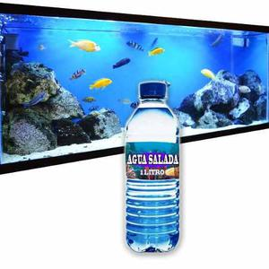 Agua para acuarios salada 1 litro de concentrado especial