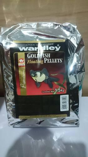 Alimento japones pellets de 1.5kg peces pecera acuario