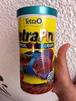 Alimento peces tetracolor tropical crisps 210gr acuarios