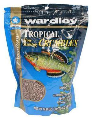 Alimento pellets chico wardley flotantes 350g peces acuaros