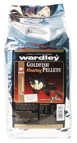 Alimento wardley japones pellets 1.5 kg (criador)