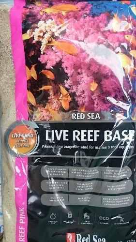 Aragonita viva red sea pink 10kg