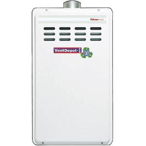 Boiler gas de paso profesional, mxgfh-003, 5 servicios, 35